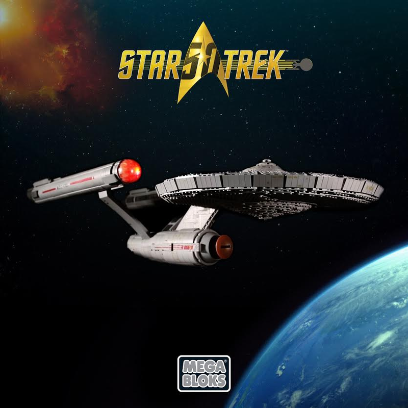 Mega Bloks' New Star Trek Construction Sets Are All About the Original Series