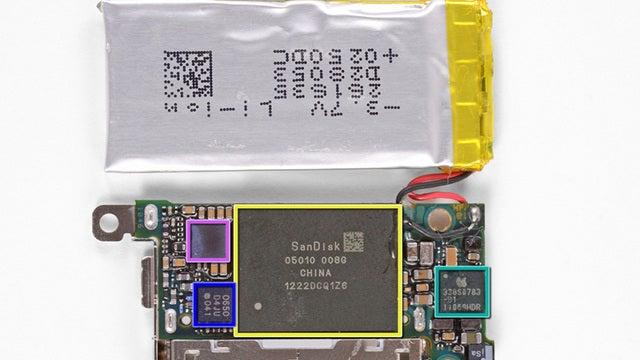 The New iPod Nano's Got a New Apple Processor