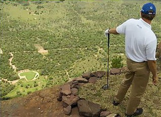 When Golf Meets Cliff Diving