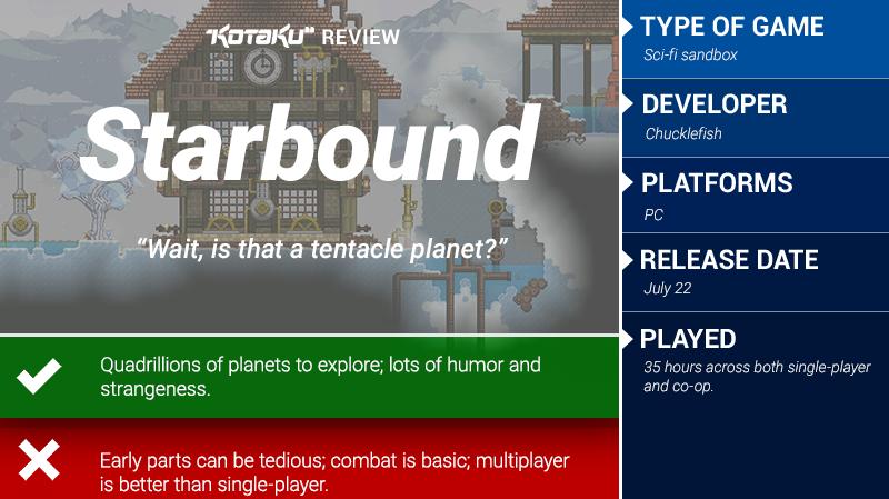 Starbound: The Kotaku Review