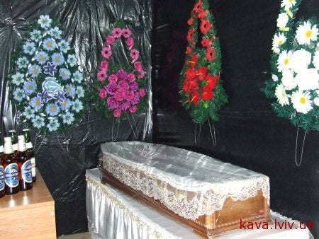 The world's largest coffin is also an undertaker-run restaurant
