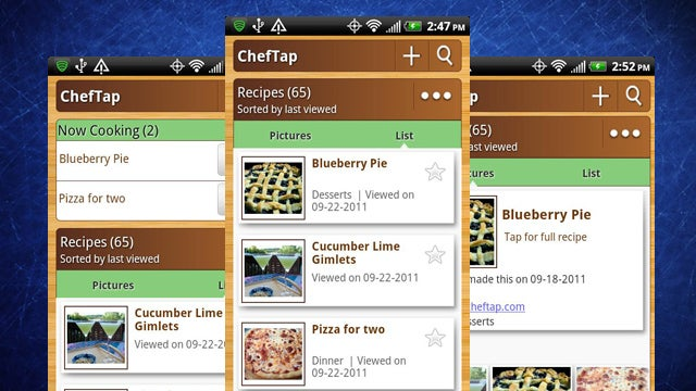 ChefTap for Android Turns Your Phone into a Cooking Companion