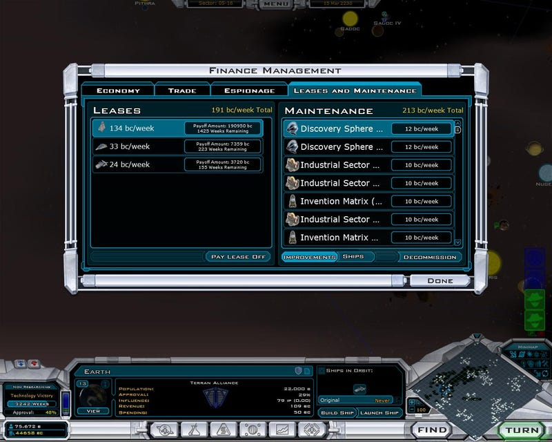 Galactic Civilizations II: Endless Screens (Well, Twenty)