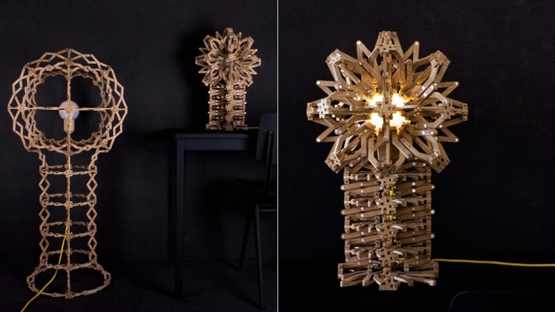 This Expanding Lamp Is Beautifully Intricate