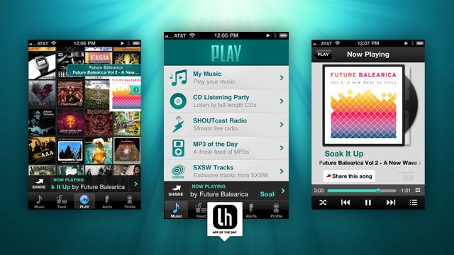 PLAY Is a Fantastic Free Music Streamer and Player for iPhone and Android
