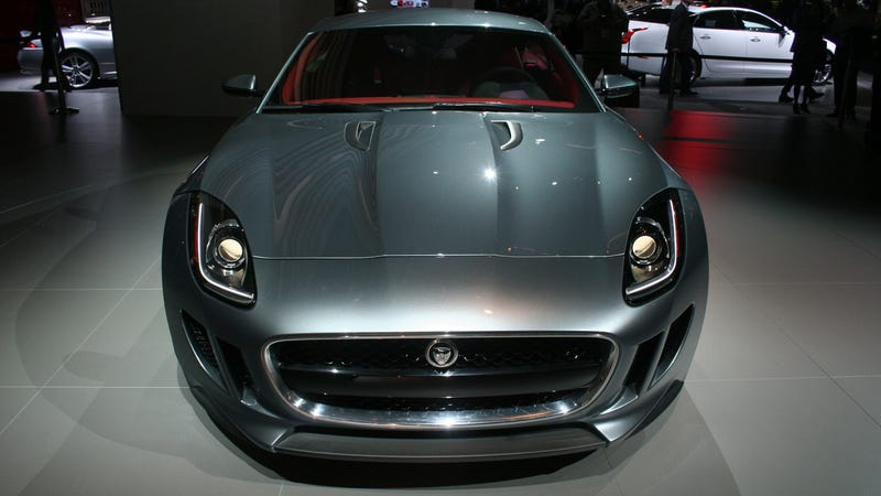 The Jaguar C-X16 concept is one tight pussy