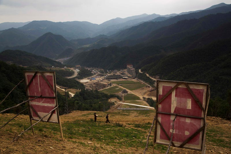 Look At These Bleak Photos Of North Korea's First Ski Resort