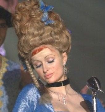 Paris Hilton's Blood-Crusted Cinderella Fashion in Organ-Stealing Opera