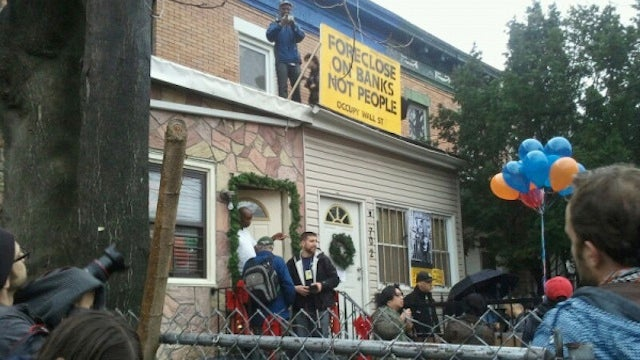 Occupy Wall Street Is Occupying Foreclosed Homes