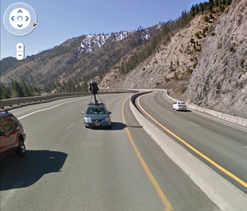Help! I'm Being Followed By A Google Street View Car!