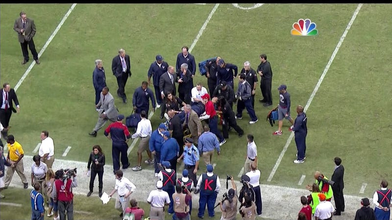 Texans Coach Gary Kubiak Collapses On Field During Game [UPDATING]
