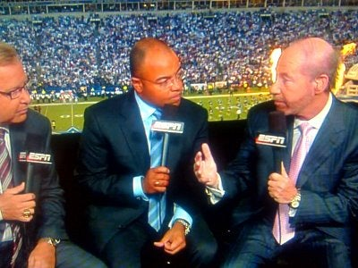 Seriously, Did Tony Kornheiser Have Electroshock Therapy Before The Game Last Night?