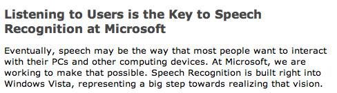 Microsoft Discovers Secret to Speech Recognition