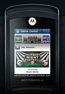 Live NFL Games Broadcast To Sprint Phones Starting Tonight
