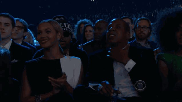 Seven GIFs and a Video Showing How Taylor Swift and Jay-Z Won the Grammys