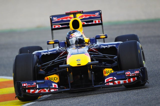 Red Bull F1 team just crushing it in Barcelona