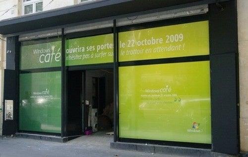 Microsoft Opening Windows Cafe In Paris