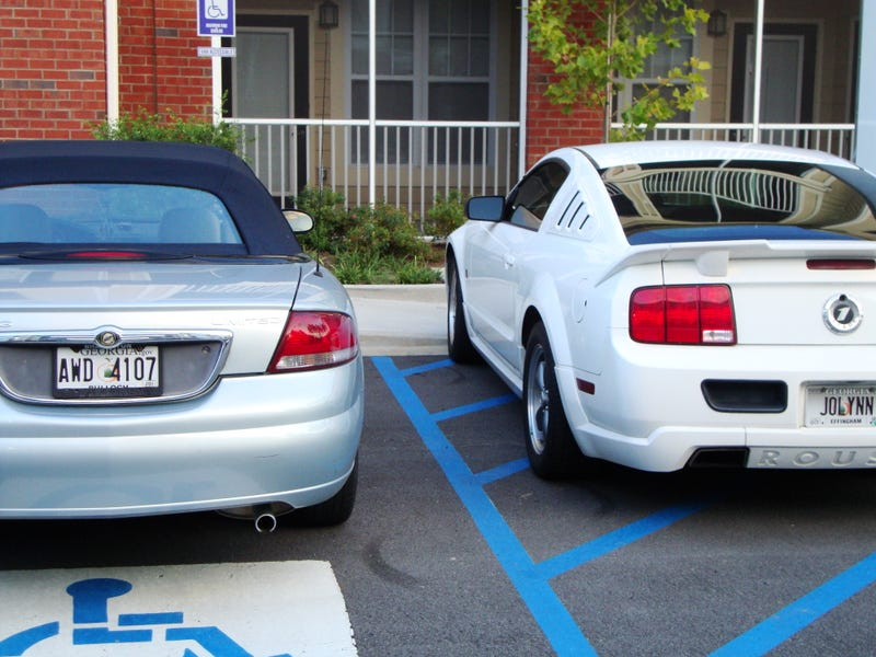 You Can Help Put a Dent In Asshat Parking