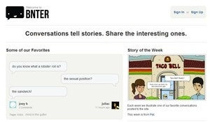 Share and Archive Text Message Conversations at Bnter