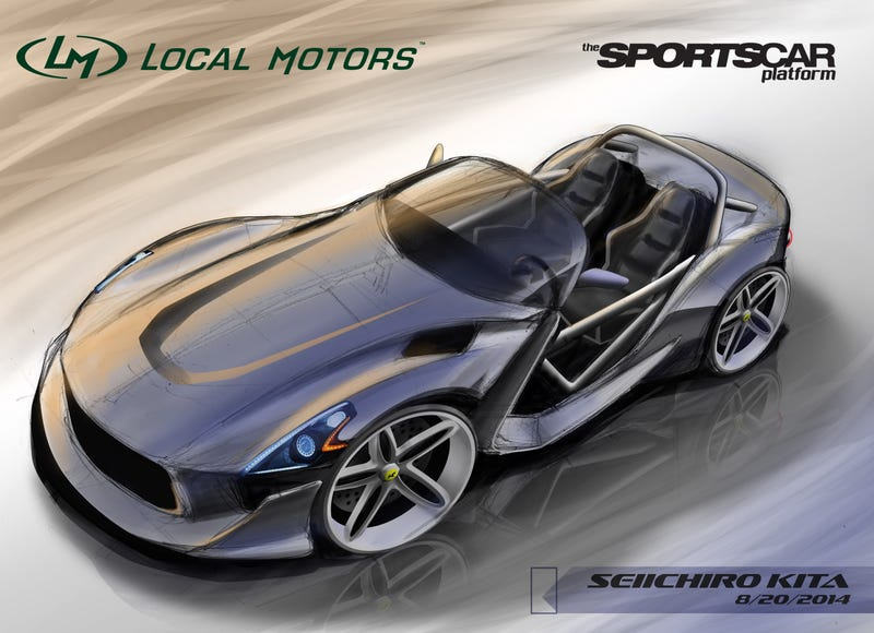 ​The Local Motors Sports Car Challenge Is Open For Voting