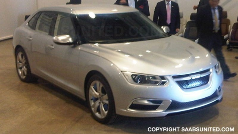 This Would Have Been The New Saab 9-3 Phoenix
