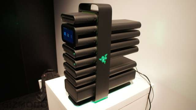 Razer's Modular Desktop Makes Building a PC Like Playing with Lego