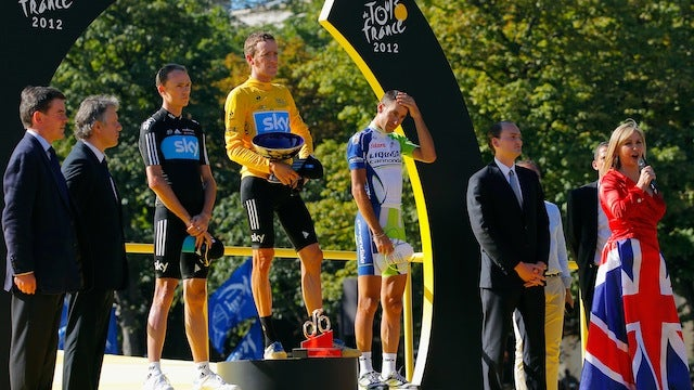 Brits Placed First And Second At The Tour De France, Their Significant Others May Hate Each Other