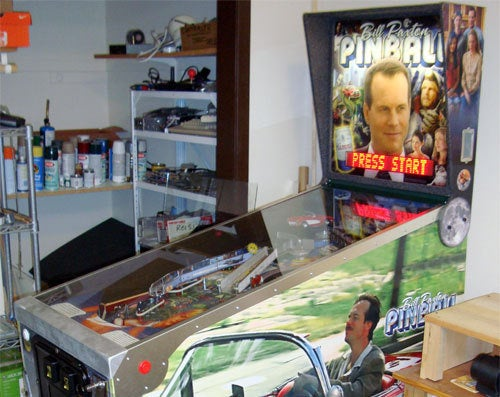 The Amazing Bill Paxton Pinball Machine