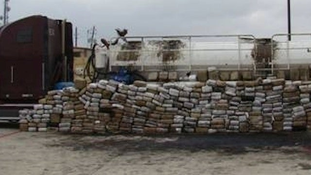 3.9 Tons of Pot Discovered During Routine Traffic Stop in Texas