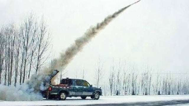 How China controls the weather with rockets launched from pickups