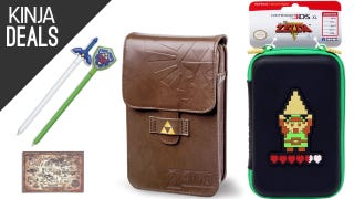 Carry Your 3DS XL in Style with These Zelda Pouches