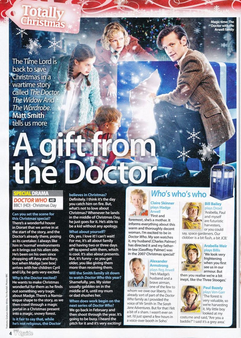 Doctor Who Magazine Scans