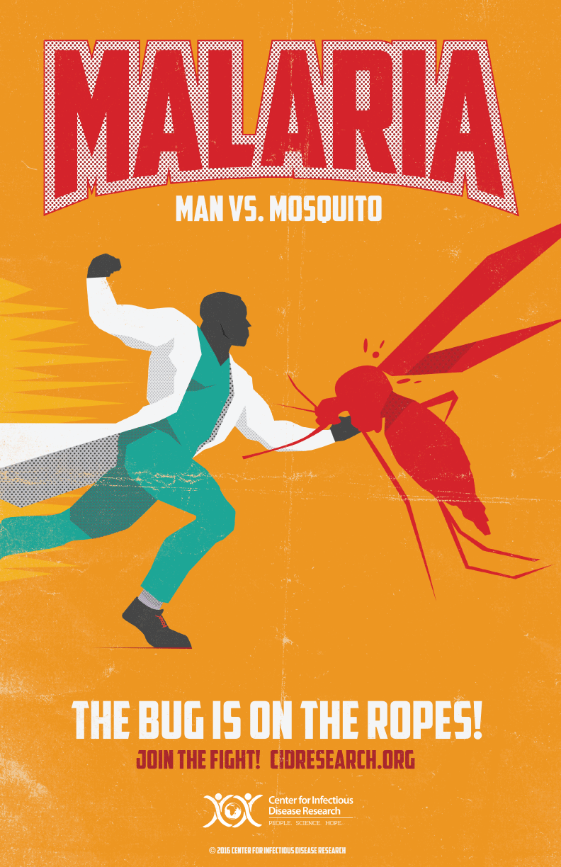 Retro-Style Disease Posters Turn Doctors Into Superheros