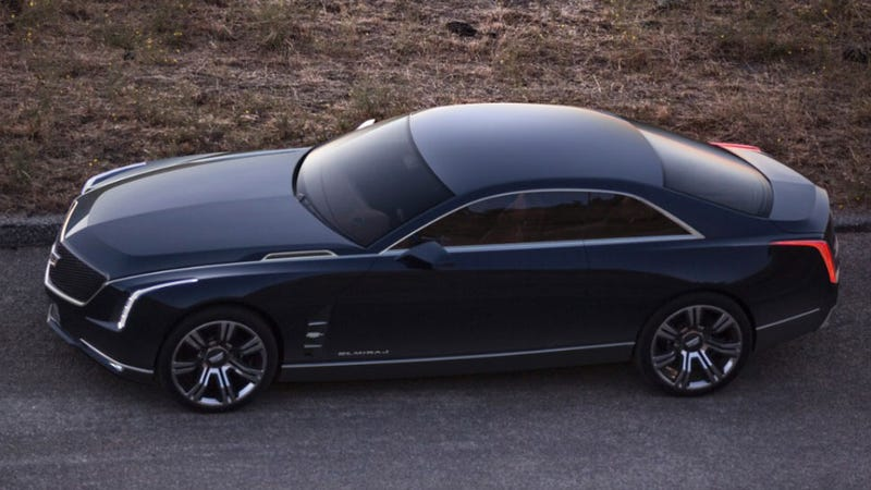 Cadillac's Elmiraj Concept Is The Flagship Coupe Of Your Dreams