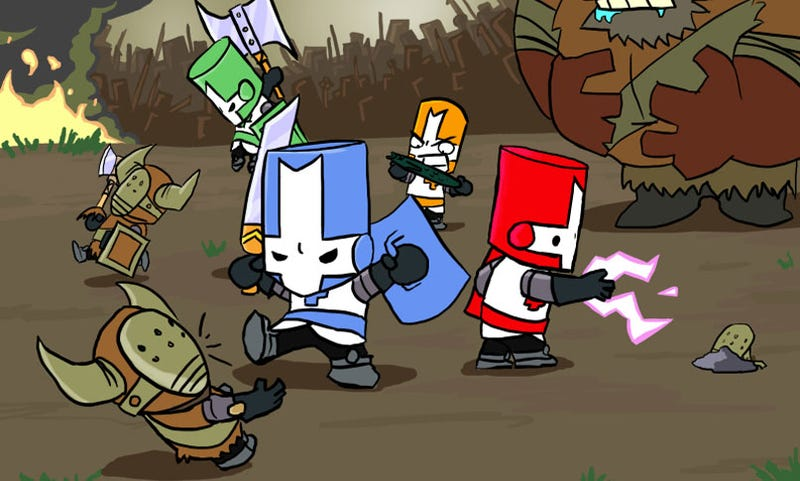 Castle Crashers FINALLY Gets Patched