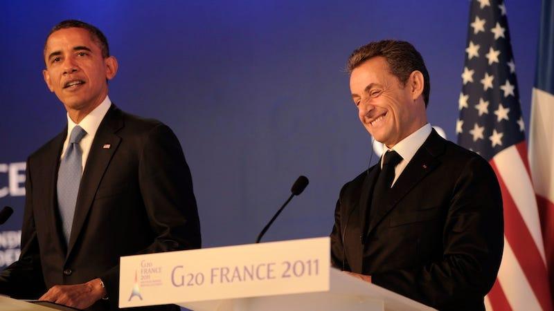 Sarkozy Gave Obama a $450 Bathrobe Among $40,000 Worth of Extravagances