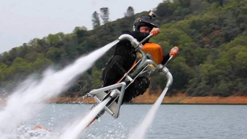 This Jetbike Looks Like the Most Fun You Could Ever Have On the Water
