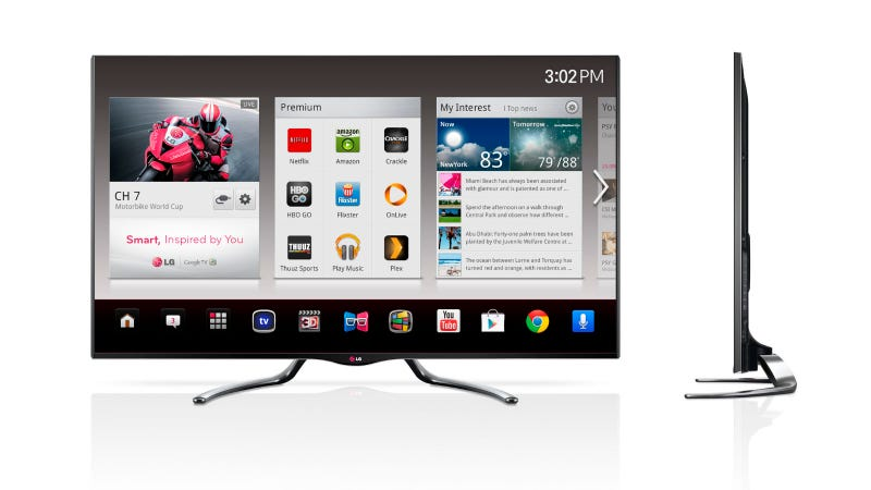 LG Adds Google TV to Seven Sets for Smarter Channel Surfing