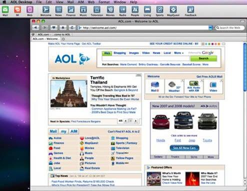 AOL Desktop 1.0 Comes to Mac