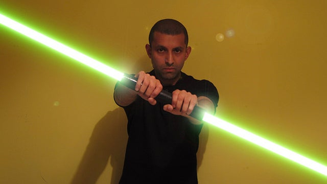 Man Arrested for Terrorizing Holiday Shoppers with Light Saber