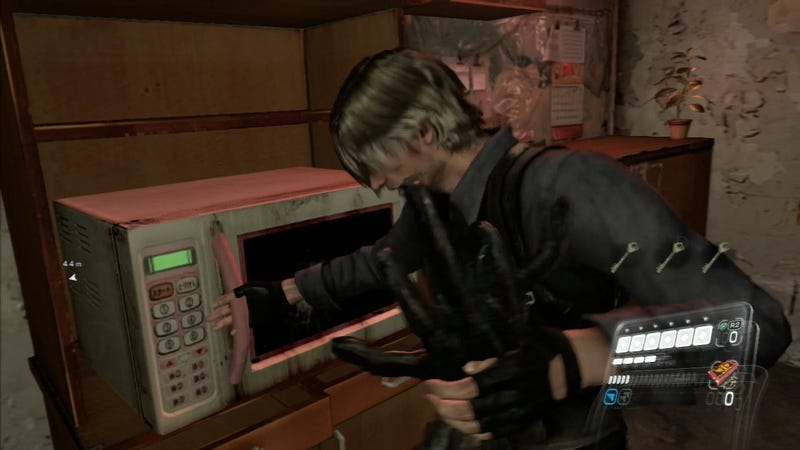 Our Favorite Monster-Killing Move in Resident Evil 6 Involves a Microwave