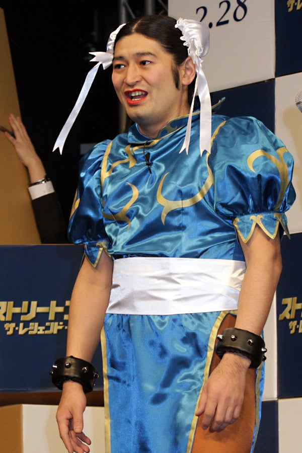 What Do You Say To A Man Dressed As Chun Li?