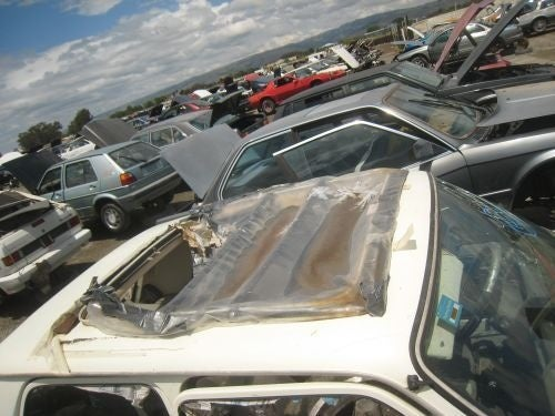 Sunroof, Great Mileage Can't Keep This Le Car Out Of The Junkyard