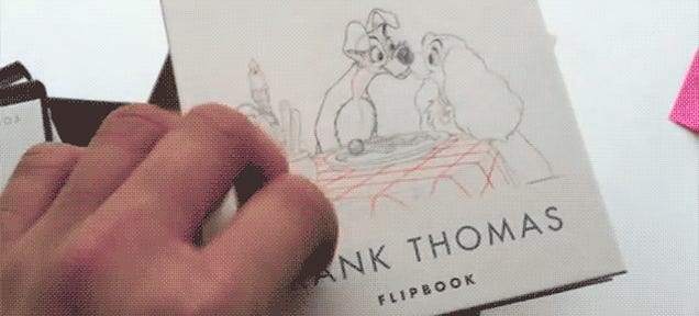 A Collection Of Nine Flipbooks Celebrating Disney's Greatest Animators