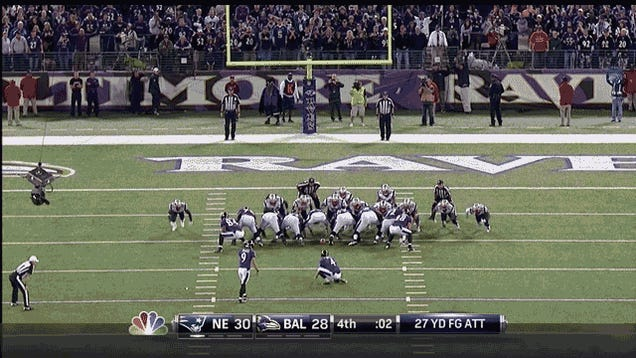 Baltimore Beat The Patriots And Bill Belichick Is So, So Salty About It, In Four GIFs
