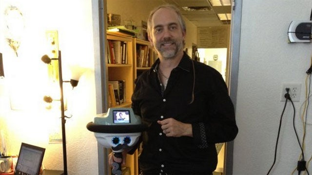 Ultima Creator Transforms Into a Robot to Work From Home