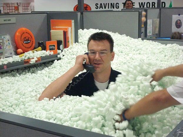 Inside the Secret Science of Packing Material