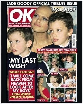 OK! Magazine Murders Jade Goody