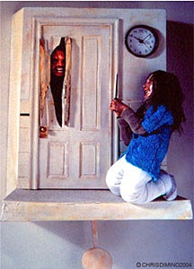 Horrifying Cuckoo Clock Design From The Shining