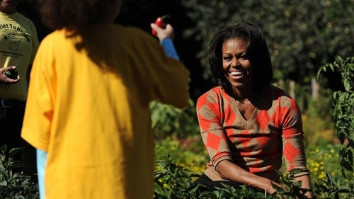 How Dare Michelle Obama Care About Healthy Eating